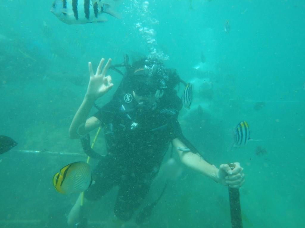My First Scuba-Diving Experience